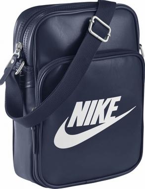 f938f0f3f8e7 Сумка мужская Nike Heritage Si Small Items II синяя - купить в Киеве ...