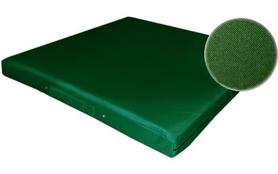 Фото 1 к товару Мат гимнастический ZLT 100x100x8 см зеленый