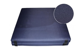 Мат гимнастический складной ZLT 200x100x8 см синий