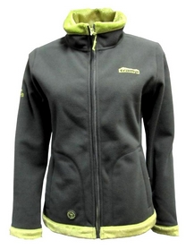 Куртка женская Tramp Бия серая с зеленым