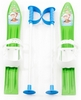 Лыжи с палками детские Marmat 60 см зеленый - фото 1