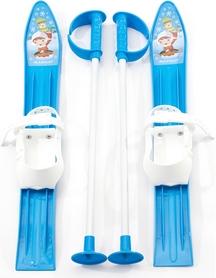 Лыжи с палками детские Marmat 60 см синий