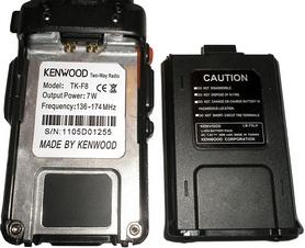 Фото 4 к товару Рация носимая Kenwood TK-F8 dual band