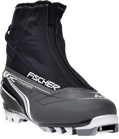 Фото 2 к товару Ботинки для беговых лыж Fischer XC Comfort 2015/2016 silver