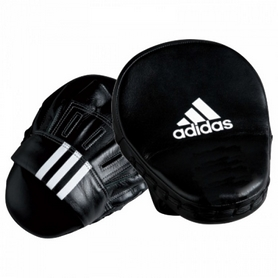 "Лапа Adidas 10"" Leather Slim & Curved (2 шт)"
