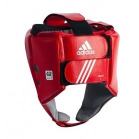 Фото 2 к товару Шлем боксерский Adidas AIBA красный