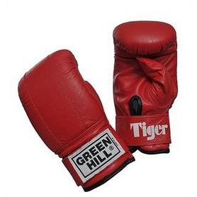 Перчатки снарядные Green Hill Tiger красные
