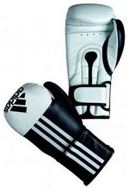 Перчатки боксерские Adidas Adistar черно-белые