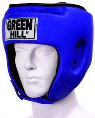 Шлем боксерский Green Hill Special синий