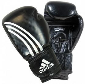 Фото 1 к товару Перчатки боксерские Adidas Shadow черные