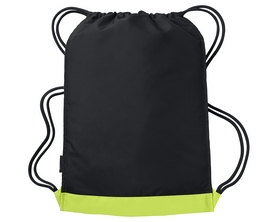 Фото 2 к товару Рюкзак спортивный Nike Vapor Gymsack салатово-черный