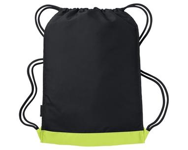 Рюкзак спортивный Nike Vapor Gymsack салатово-черный