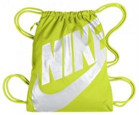 Фото 1 к товару Рюкзак спортивный Nike Heritage Gymsack Green