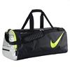 Сумка спортивная Nike Court Tech Duffle черно-салатовая - фото 1
