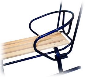 Фото 4 к товару Санки зимние Time Eco Спорт Ф1 синие