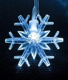 Фото 2 к товару Гирлянда Luca Lighting Снежинка 3,9 м