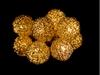 Гирлянда Luca Lighting Золотистые шарики 1,05 м - фото 2