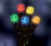 Гирлянда многоцветная Luca Lighting 10 м - фото 3