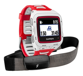 Фото 1 к товару Часы мультиспортивные с кардиодатчиком Garmin Forerunner 920XT Bundle White & Red
