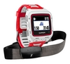 Часы мультиспортивные с кардиодатчиком Garmin Forerunner 920XT Bundle White & Red - фото 1