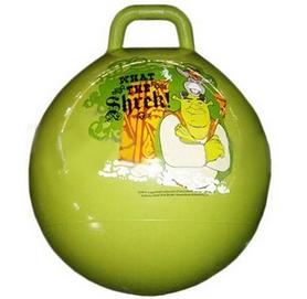 Распродажа*! Мяч попрыгун с ручкой Disney 45 см зеленый