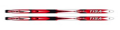 Лыжи беговые Tisa Sport Wax 2014/2015 red