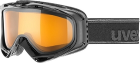 Маска горнолыжная Uvex 300 черная