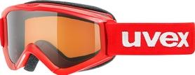 Фото 1 к товару Маска горнолыжная детская Uvex speedy pro красная