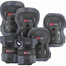 Распродажа*! Защита для катания (комплект) Reaction 3-pack protective set черная - размер М