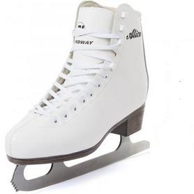 Фото 2 к товару Коньки фигурные женские Nordway ALICE Figure ice skates белые