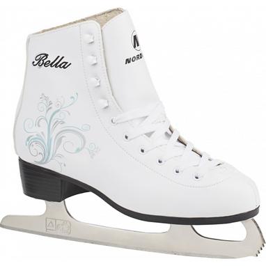 Коньки фигурные женские BELLA Nordway Figure ice skates белые
