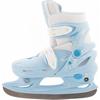 Коньки раздвижные детские Nordway CLICK-GIRL Kid's adjustable ice skates голубые - фото 1