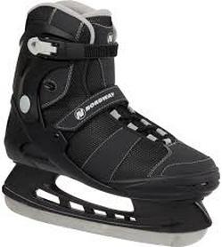 Фото 1 к товару Коньки ледовые мужские Nordway FH-ONE Men's fitness ice skates черно-серые