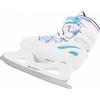 Коньки раздвижные детские Nordway SLIDE-GIRL бело-голубые - фото 2