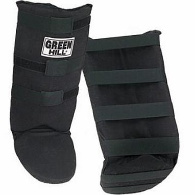 Защита для голени и стопы Green Hill черная