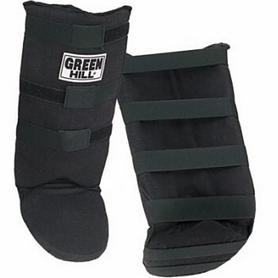 Распродажа*! Защита для голени и стопы Green Hill черная - M