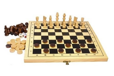 Набор из 3 игр (шахматы, шашки, нарды) Duke WJ1274
