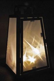 Фото 5 к товару Фонарь декоративный Luca Lighting 14х14х25 см