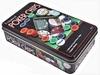 Набор для игры в покер в оловянном кейсе Duke TC11100 - фото 1