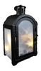 Фонарь декоративный Luca Lighting 11х7,5х20 см черный - фото 2