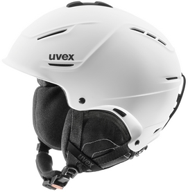 Шлем горнолыжный Uvex plus Helmet белый матовый