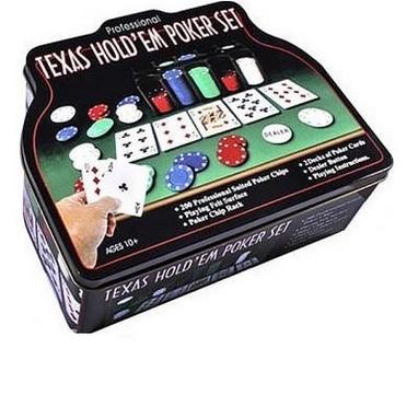 Набор для игры в покер в оловянном кейсе Duke TC04201C