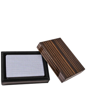 Колода карт в деревянной шкатулке Duke B14L
