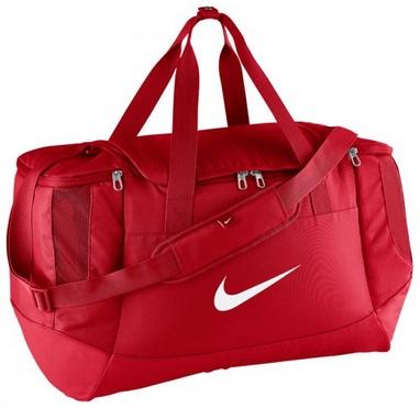 0a9f6aaf831a Сумка спортивная Nike Club Team Swoosh Duff M красная - купить в ...