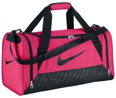 Сумка спортивная Nike Womens Brasilia 6 Duffel S Red