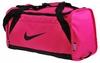 Сумка спортивная Nike Womens Brasilia 6 Duffel S Pink - фото 1