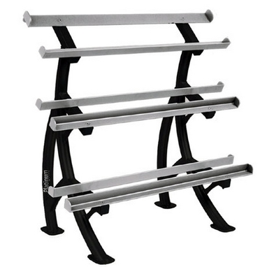 Стойка для гантелей 3-х ярусная Tunturi Platinum Dumbbell Rack
