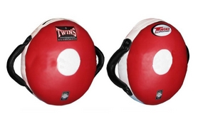 Макивара круглая Twins PML-12-RD-BK красно-черная (1 шт)