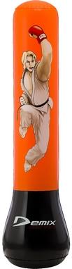 Мешок боксерский детский надувной Demix Inflatable Punching Bag оранжевый