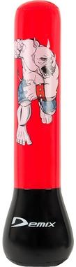 Мешок боксерский детский надувной Demix Inflatable Punching Bag красный